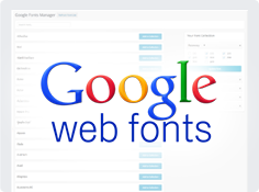 Tons of Google fonts