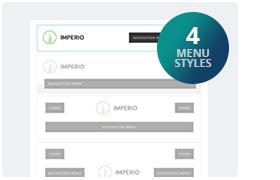 4 Menu Styles