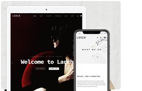 Larch - Responsive Minimal Multipurpose WordPress Theme - 1