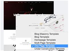 One / Multi Page  Download Larch – Responsive Minimal Multipurpose WordPress Theme nulled desc6