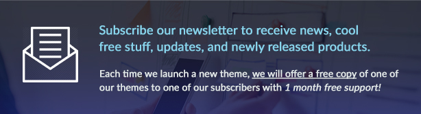 subscribe upper newsletter