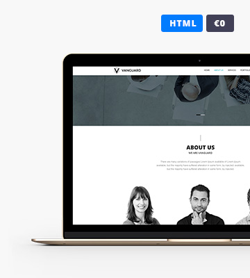 VANGUARD HTML